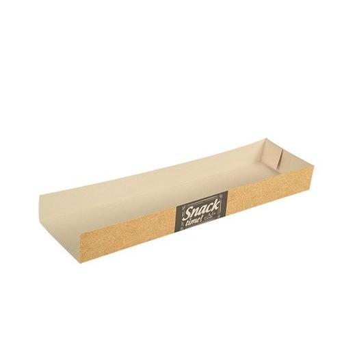 Tacka papierowa na zapiekankę Good Food 28,5 x 7,5 x 3 cm 50 szt
