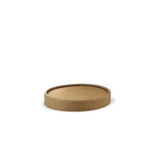 Pokrywka do kubków na zupę z papieru 230 - 470ml, śr. 98 mm, 25 szt