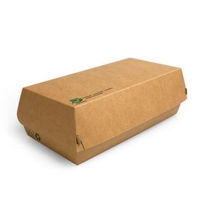 Pojemnik papierowy na bagietki 22 x 10,7 x 7,5 cm 25 szt.