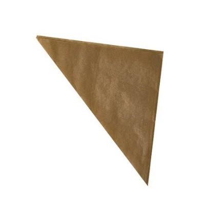 Torebki papierowe rożki kraft 23 x 23 x 32,5 cm, 250g 1000 szt.