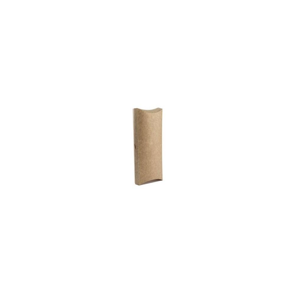 Pudełko perforowane wrap  tortilla 8 x 3 x 20 cm 100 szt.