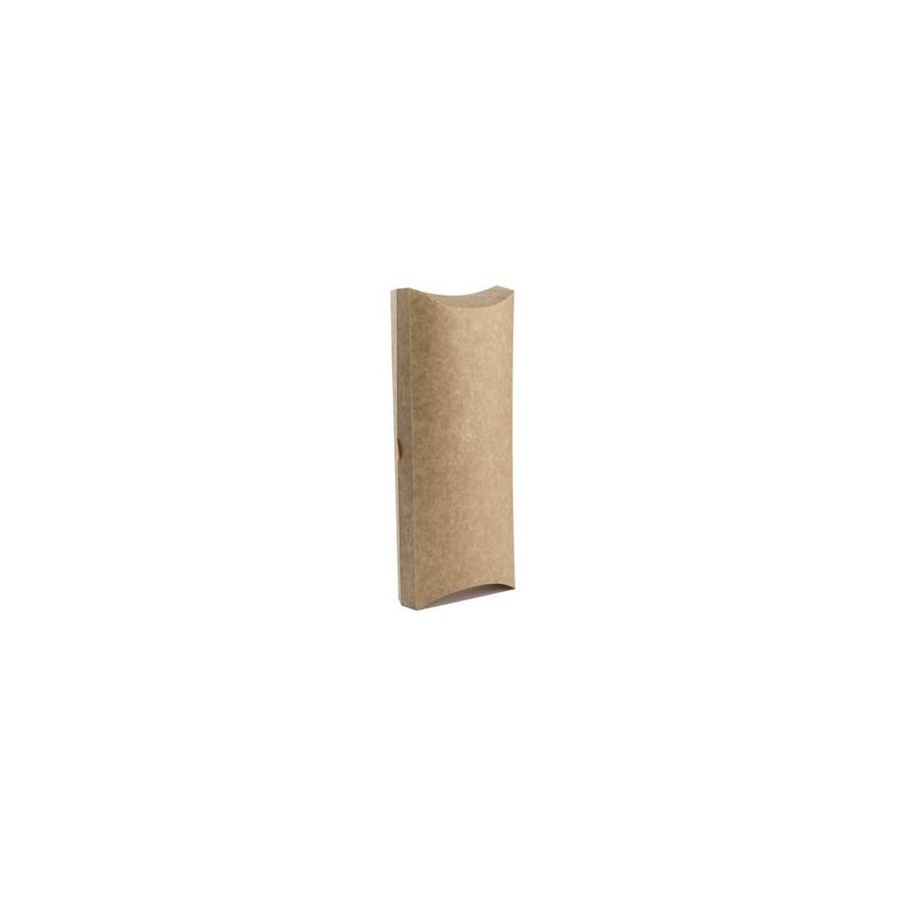 Pudełko perforowane wrap  tortilla 9,4 x 3 x 20 cm 100 szt.