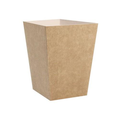 Kubełek papierowy kraft 4,3L 50 szt.