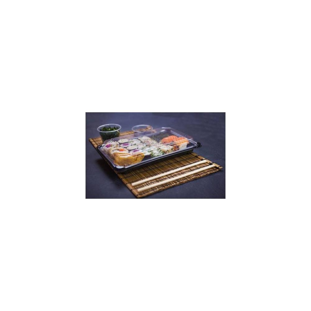 Pojemnik PLA na sushi 24,5 x 15 x 4 cm 100 szt.