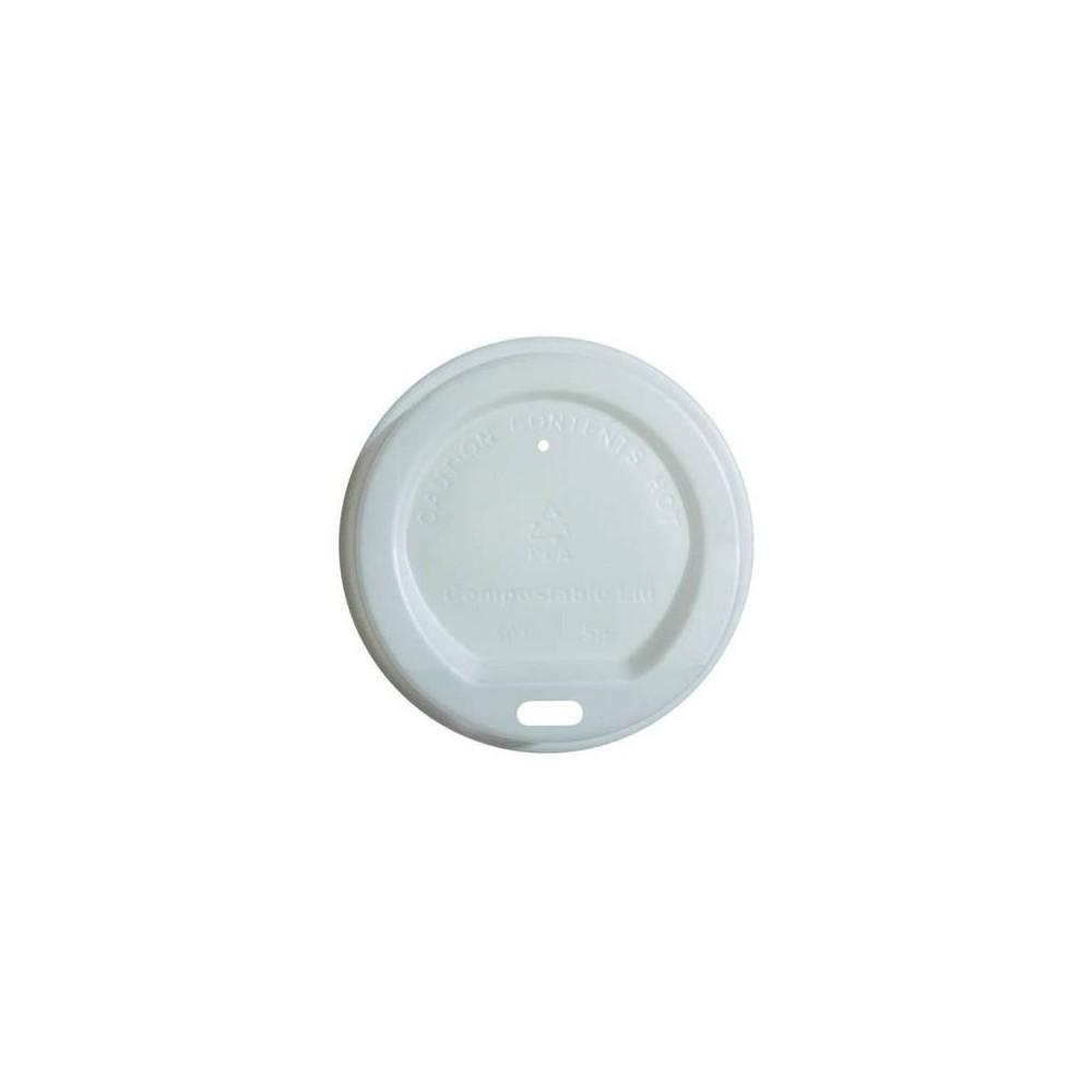 Pokrywka C PLA do kubka biała sr 80mm 100szt