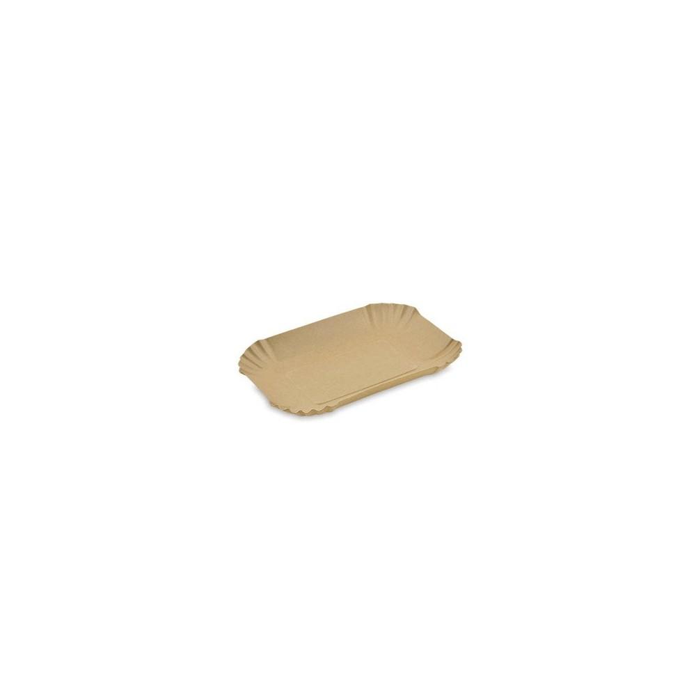 Tacka papierowa głęboka kraft 13x18x3cm 250 szt