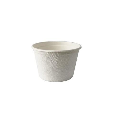 Kubek z trzciny cukrowej na zupę 350ml sr 10cm wys. 6,4cm 50 szt