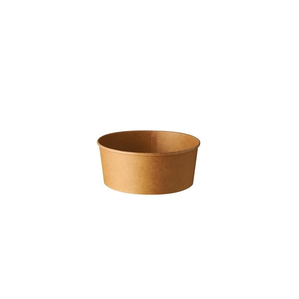 Pojemnik papierowy okrągły 750ml sr150mm wys. 6 cm 50 szt