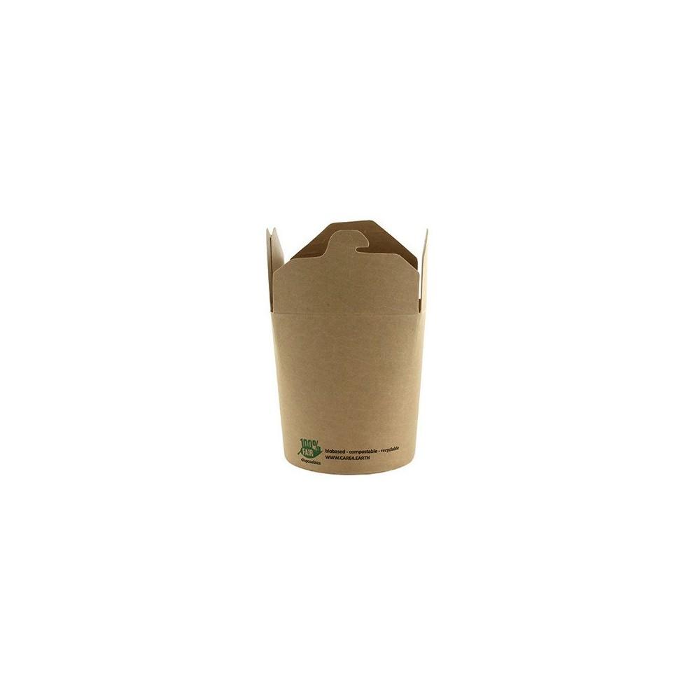 Box na przekąski kraft 470ml 9,8x8,2x7cm 25szt